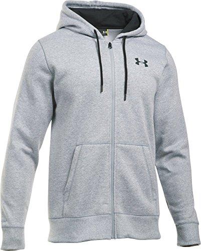 Sweatshirt Kapuze Ohne Jordan (Under Armour Herren Kapuzenjacke CC Storm Rival Full-Zip, true gray heather, XS, 1280781)
