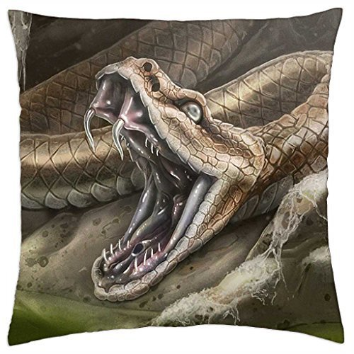 SNAKE BITE - Throw Pillow Cover Case (16