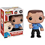 Big Bang Theory Pop Television Sheldon Cooper Star Trek Vinyl Figure