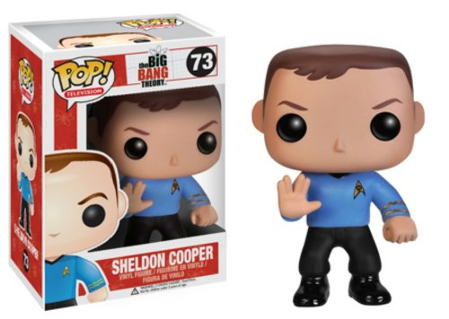 FunKo pdf00003791 – Figur Kino – The Big Bang Theory – Pop – Sheldon Star Trek