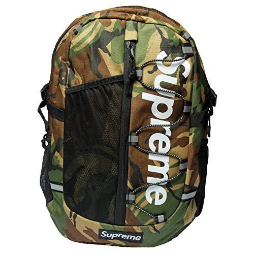 Supreme Spain Rucksack Tasche Laptoptasche Big Logo Streetwear Dope (camo (1108)) -