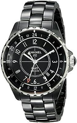 Chanel h3102negro cerámica reloj de la mujer