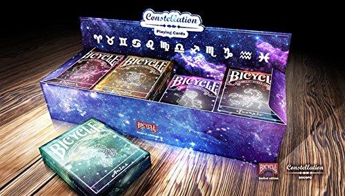 Bicycle Kartenspiel Spielkarten Poker Karten Constellation Series Limited Custom Playing Cards - Complete 12 Deck Set - Zaubertricks und Magie Poker Casino