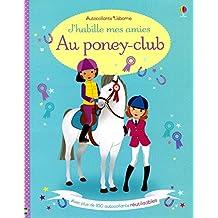 J'habille mes amies Au poney-club - Autocollants Usborne