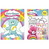 Care Bear Colouring Book and Colouring Set - SET OF 2 ITEMS