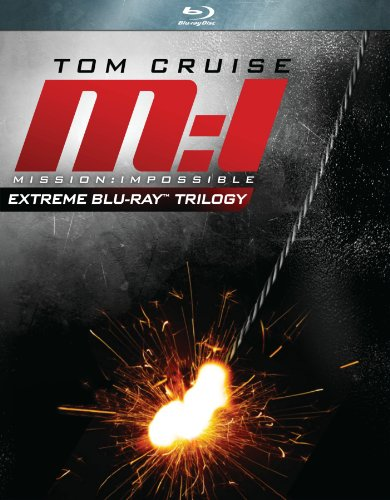 Mission: Impossible - Extreme Trilogy (Mission: Impossible / Mission: Impossible 2 / Mission: Impossible 3) [Blu-ray]-0