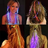 #10: LED Hair Lights For Parties - Dance Party Fashion Accessory (1 Piece)