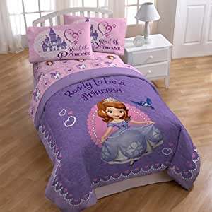 Sofia the First 'Ready to be a Princess' Twin Size Sheets Set