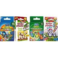 Kinderpflaster/Pflaster / Stripes für Kinder im Set - mit tollen bunten Motiven wählbar: Kunterbunt – Tiere –... preisvergleich bei billige-tabletten.eu