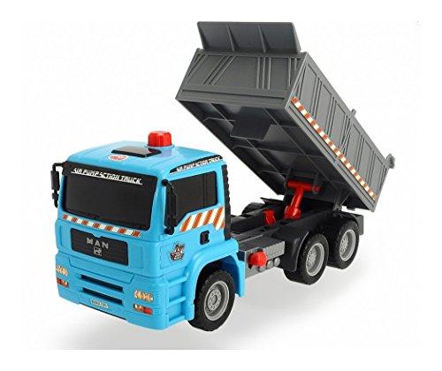 Preisvergleich Produktbild Dickie Toys 203805001 - Air Pump Dump Truck, Muldenkipper, 28 cm