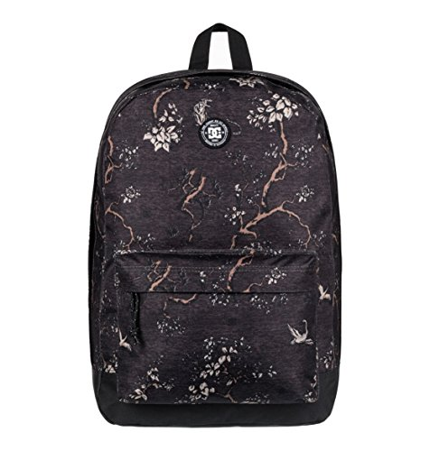 DC Shoes Backstack Print Mochila tipo casual, 52 cm, 18.5 litros, Anthracite