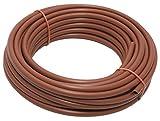 Aqua Control C4017 - Rollo de 50 metros de micro tubo de 4 mm para goteo. Color marrón.