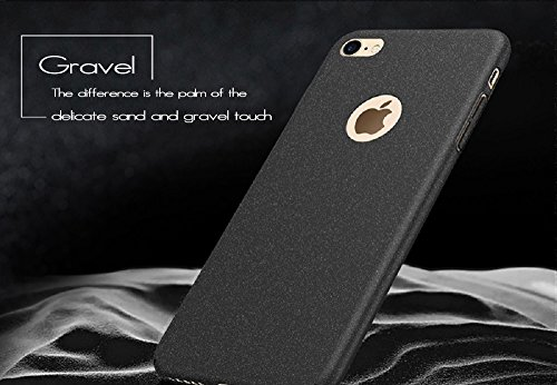 Anccer iPhone 6S Coque [Serie Mat] Resilient Conception Ultra mince et absorption des chocs pour iPhone 6 Gravel Black Gravel Black