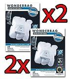 2x Rowenta Staubsaugerbeutel MW Wonderbag Universal Allergy Care 8Säcke Endura WB484720