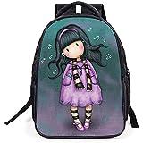 GenialES 3D Anime Mochila Escolar para Escuela Primaria Infantil Niños 42*32*16cm