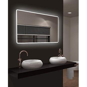 LED beleuchteter Badspiegel mit Licht Badezimmerspiegel