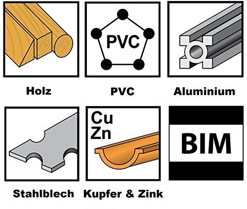 10x Sägeblatt Universal, 45mm BiM für Ridgid Multi-Tool