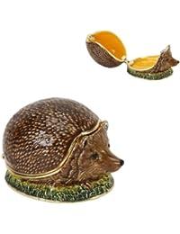 Hedgehog Trinket Box - Ornament - Treasured Trinkets