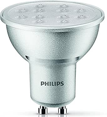 philips led lampe ersetzt 50w eek a gu10 warmwei 2700 kelvin 350 lumen dimmbar. Black Bedroom Furniture Sets. Home Design Ideas