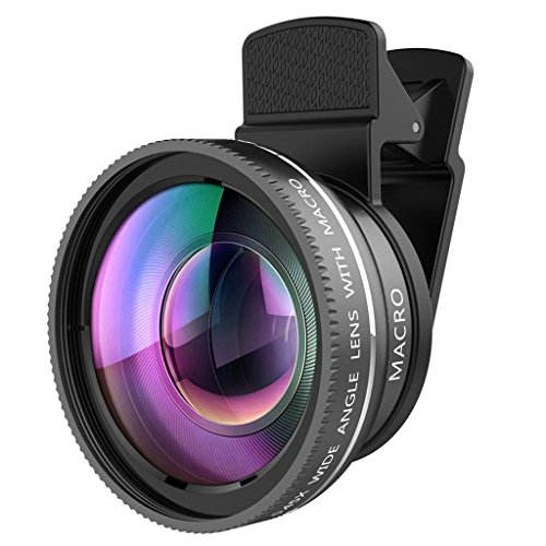 Magideal 2-in-1 Camera Lens Kit for Smartphones (Multicolour)