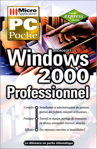 PC poche Windows 2000 Pro