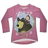 Mascha und der Bär Langarmshirt mit Spitze Size 122