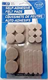 #10: TMS Self Adhesive Felt Pads Assorted Size - 33Pcs