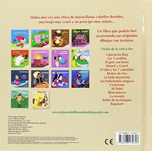 Rapunzel: Con texturas en el interior (Cuentos clásicos con texturas) libros de leer gratis