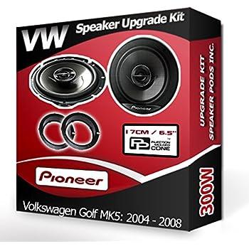 Inex Vauxhall Corsa C Front Door Speaker Upgrade Kit PULSE 5 Coaxial 150w 130mm 5.25