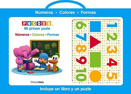 Pocoyo. Mi primer puzle: Números Colores Formas (Libros especiales)