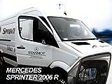 ZentimeX Z902074 Windabweiser Regenabweiser Acrylglas dunkelgrau für VORNE