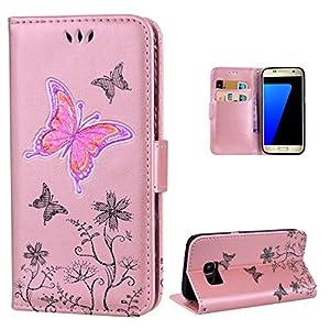 Hancda Hülle für Samsung Galaxy S7 Handyhülle Etui