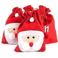 Pajoma 50209.0Lot DE 24Sachets représentant Le Père Noël pour Calendrier de l'Avent