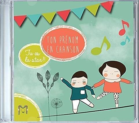 Musique et Chansons personnalisées - Ma musique pour moi - CD enfant de 2 à 8 ans - Grand prix du jouet - Idée cadeau enfant - Merci de consulter la liste des prénoms disponibles (dans les photos) avant de commander (en cas de doute, veuillez me contacter) Merci par avance