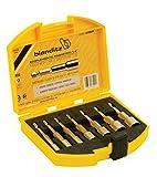 Bianditz 238925 - Juego de acoplamientos para tornillos c/hexágono (6-7-8-10-11-12-13 mm) 7 unidades