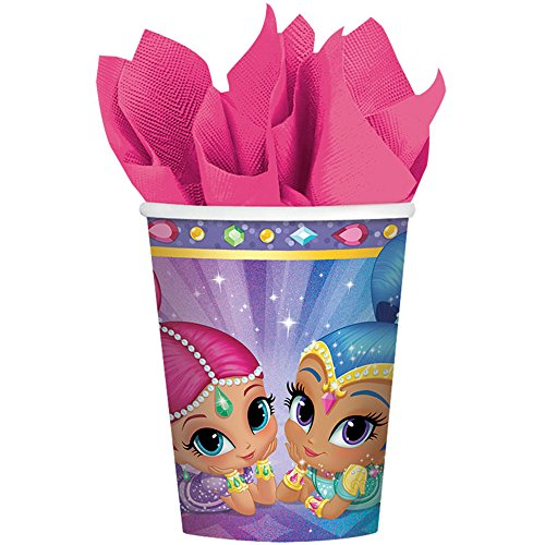 amscan-international-581653-266-ml-shimmer-and-shine-paper-cup