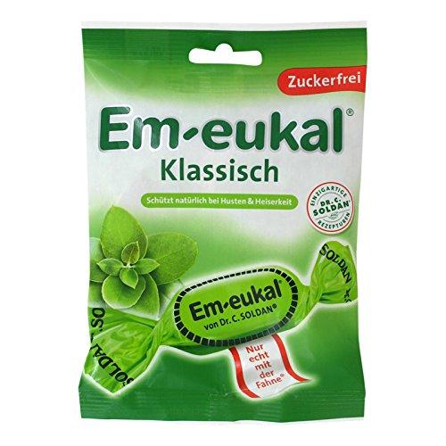 Em-eukal Bonbons Klassisch zuckerfrei, 75 g Bonbons