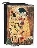 Fridolin Porte-Monnaie Klimt le Baiser, 12 cm, Multicolore