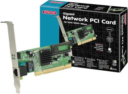 Sitecom LN-027 Gigabit Netzwerk PCI Card (10/100/1000 Mbit/s) -