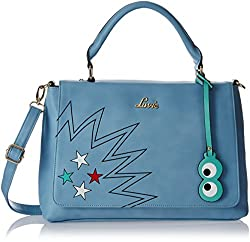 Lavie Women's Handbag (Blue) (HHCS465154B2)