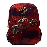 #10: Tinytot Designer Spider Byke School Bag for Boys (Multi)