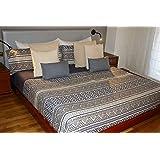 Juego de sábanas Algodón 100% ETHNIC (para cama de 150x190/200)