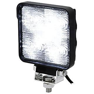 AdLuminis LED Arbeitsscheinwerfer, 9 Watt 700 Lumen, OSRAM Chips, 60°, Für 12V 24V, IP67 IP69K Schutzklasse, 5800K, Zusatzscheinwerfer, Rückfahrscheinwerfer, Suchscheinwerfer