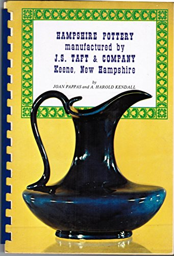 Hampshire pottery manufactured by J.S. Taft & Company,: Keene, New Hampshire,