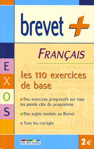 Français : Les 110 exercices de base