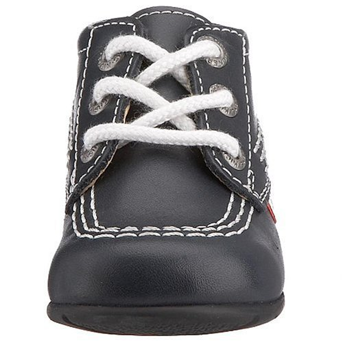 Kickers Kick Hi - Baskets - Mixte Bébé Multicolore (black/white)