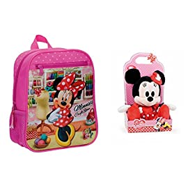 4e571f88b1 DISNEY: Pack Zaino Minnie Craft Room de 28 cm + Peluche I Love Minnie 25cm