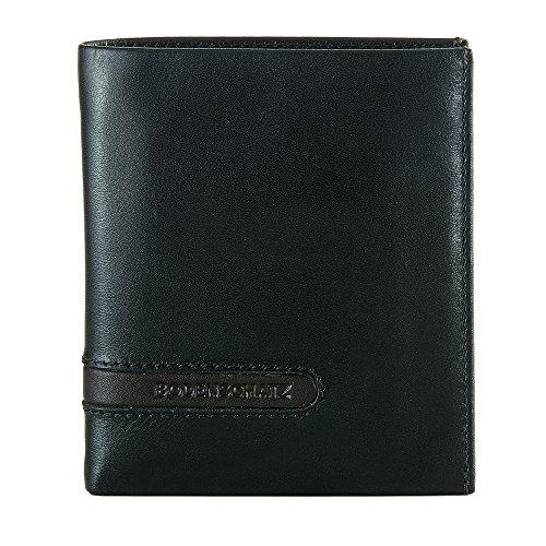 Bodenschatz Catania 8-286 CA 01 Herren Geldbörsen 11x12x2 cm (B x H x T) Schwarz (Black 001)