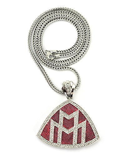 maybach-iced-out-triangular-pendant-w-914cm-franco-chain-silver-red-tone