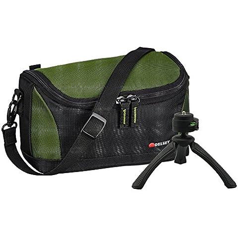 Aktions-Set–Borsa Bag Delsey delpix II 120fotocamera con treppiedi da viaggio Rollei SY-310fotocamere per Sony Alpha